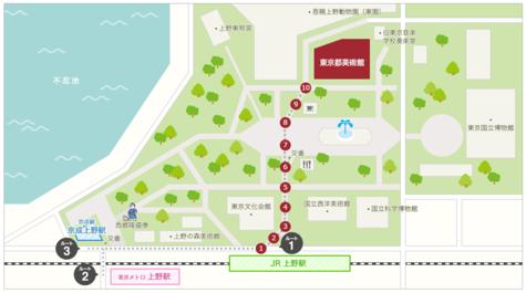 東京都美術館 アクセス