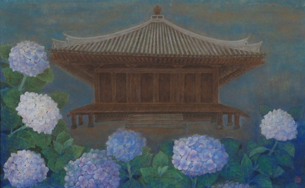 水無月の富貴寺   中川豊子