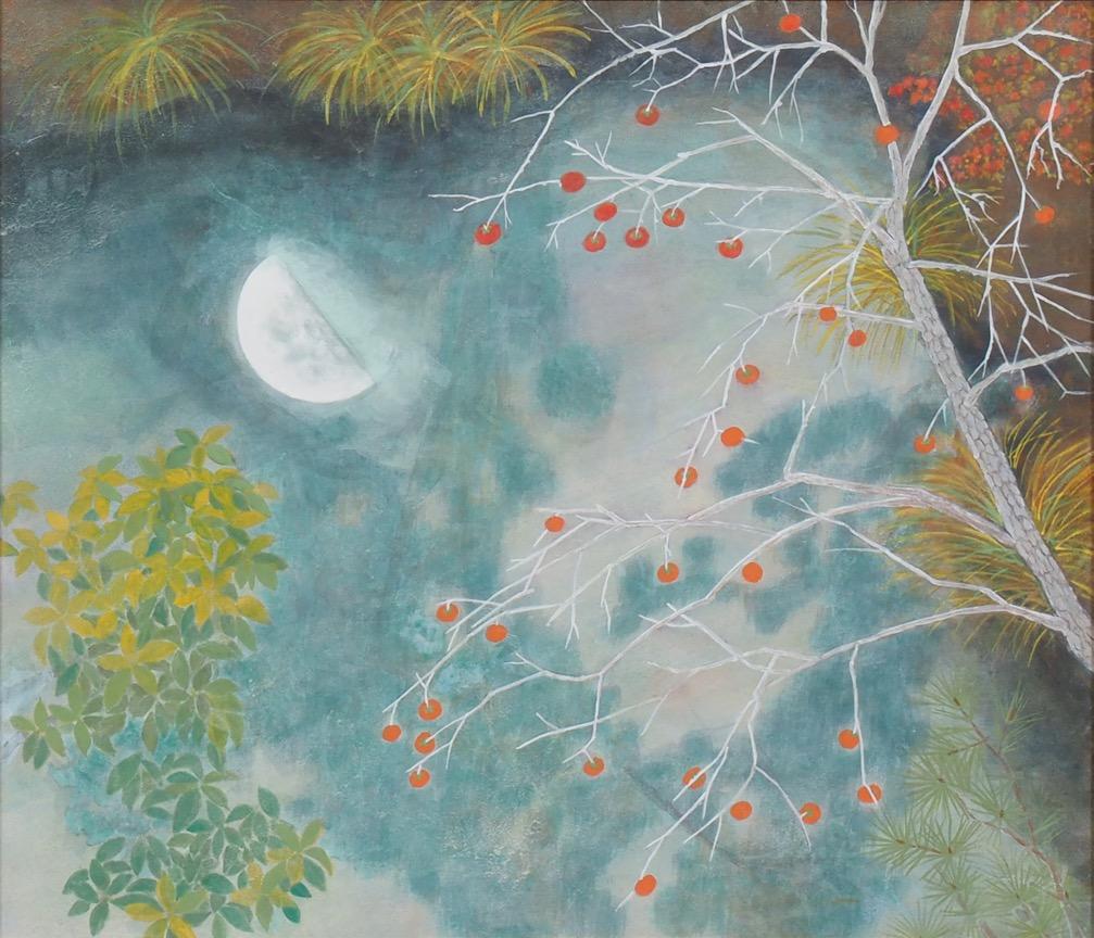 奨励賞    水面に映る上弦の月       岡崎節子     月宿る湖畔の調べ水の秋     句 樋渡洋子