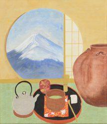 富士を見る窓 岡崎節子